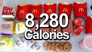 2016 Olympic Cheat Meal Challenge (Sawan Serasinghe's McD's Feast) width=