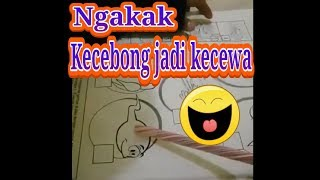 LUCU NGAKAK!!! ANAK BELAJAR BACA || KECEBONG JADI KECEWA KEPITING JADI KEPIDEK (KEINJEK)
