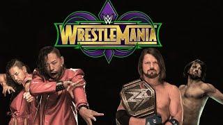 AJ Styles vs Nakamura Wrestlemania 34 Trailer