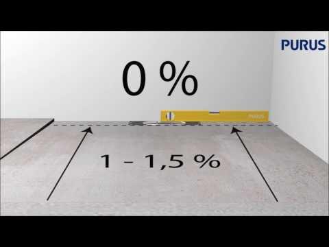 Installationsfilm för Purus Line i träbjälklag