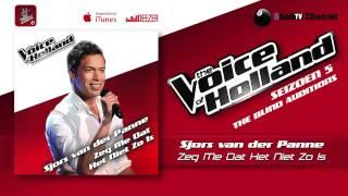 Sjors van der Panne - Zeg Me Dat Het Niet Zo Is (The voice of Holland 2014 The Blind Auditions)