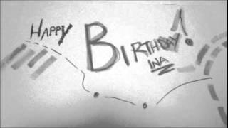 Happy Birthday Ina Pina!
