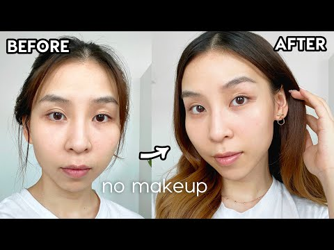 How to look good WITHOUT MAKEUP! Perfect for lazy days