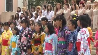 Japán gyermekkórus - Tavaszi szél vizet áraszt