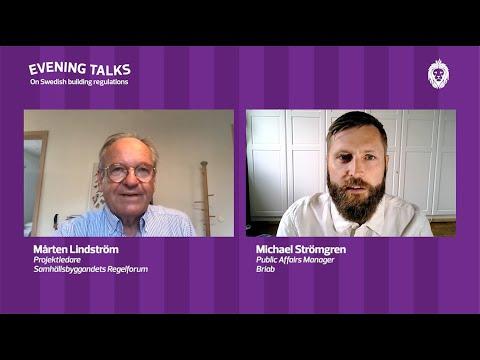 Evening Talks #3: Mårten och Michael i samtal kring skiftet inom samhällsbyggnad