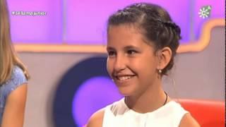 Eva González con Esperanza Garrido- gala 6 juniors copla