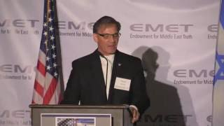 David Green at EMET's Rays of Light in the Darkness Dinner 2016