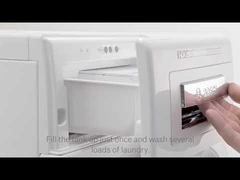 Perfekt vaskeresultat med i-DOS fra Bosch
