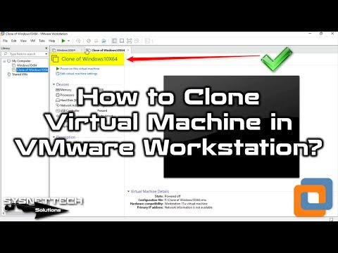 Clone Usage Video on VMware