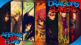 Rap Dos Dragons Slayers (Fairy Tail) l Tributo l Jki