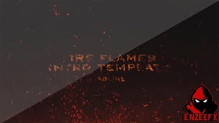Free After Effects Intro Template #2: Fire Flames Intro Template for After Effects CS6 CC