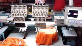 Maquina de Bordar duas Cabeças MAX BORDADOS