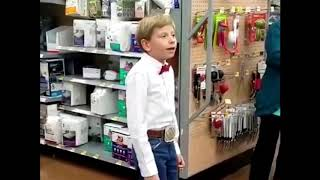 Yodeling Walmart Kid REMIX ( OFFICIAL AUDIO )