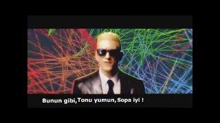 Eminem Rap God Türkçe Söylerse !