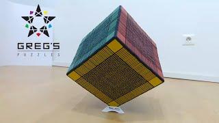 WORLD RECORD 33x33x33 RUBIK's CUBE !!!!!