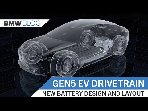 BMW Gen5 Electric Drivetrain – A Modular System