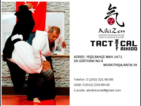 Aikido Antalya | Kürşat Demir | Aikido Ukemi | Aikido ATİK | Aikizen Dojo