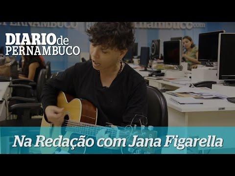 Na Reda��o - Jana Figarella, atriz do musical C�ssia Eller