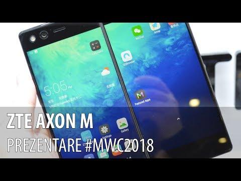ZTE AXON M - Prezentare hands-on
