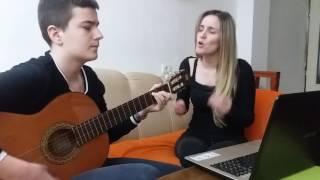 Adil i Marija Serifovic - Ne spominji ljubav cover by Sara i Aleksa