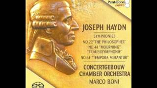 "Preview - J. Haydn - Symphony No. 64 in A-major ""Tempora mutantur"""