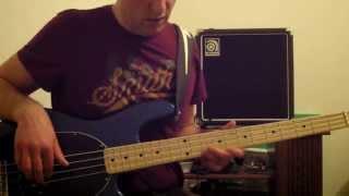 PHARRELL WILLIAMS HAPPY bass cover