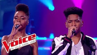 Lisandro Cuxi et Ann-Shirley - « Without You » (David Guetta feat. Usher) | The Voice France 2017
