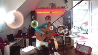 Sky Diamond/ Live Music/ French Song/Alex Martinez/Cajon/ Original Song/ 2016