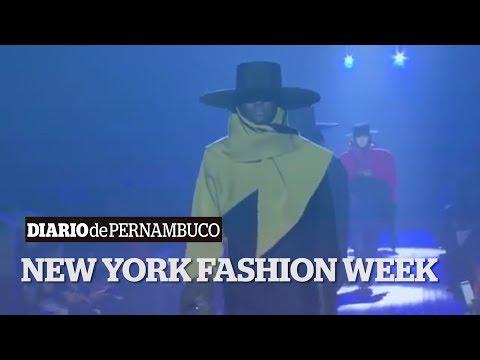 As tendências da semana de moda de Nova York