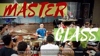 MASTER CLASS DE BATERIA - CTMDT (BH) POR VINICIUS FIGUEIREDO