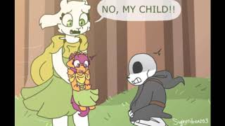 Reapertale comic dub - Can i touch you? by Scootaloo loves sans