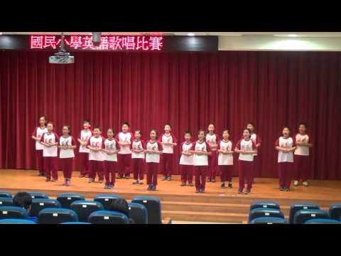102學年度英語歌唱比賽優等以上學校表演