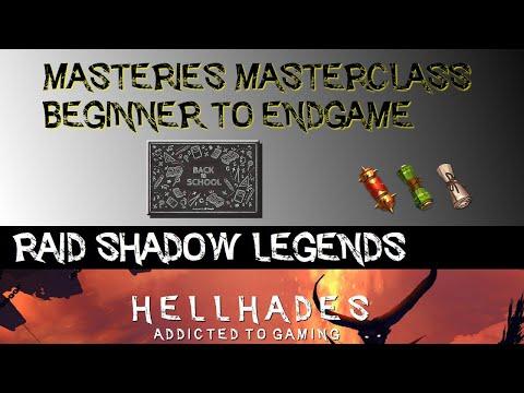RAID: Shadow Legends | Masteries Masterclass