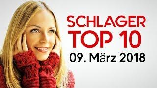TOP 10 SCHLAGER CHARTS - Die Schlager Hits vom 09. März 2018