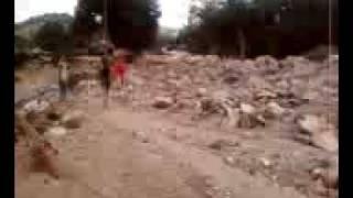 Destroços em São Vicente