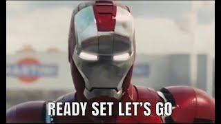 Marvel AMV Ready Set Let's Go