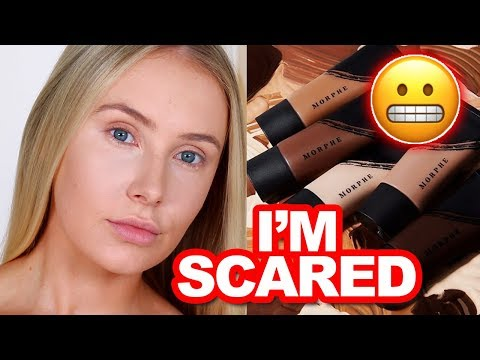 MORPHE FLUIDITY FOUNDATION: Review + Wear Test | Lauren Curtis