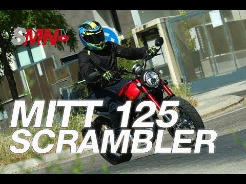 Pueba MITT 125 SCRAMBLER Limited 2019 [FULLHD]
