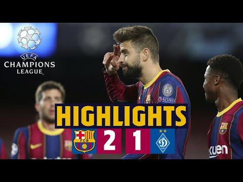 BARÇA 2-1 DYNAMO | HIGHLIGHTS & REACTIONS