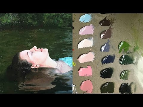Oil Painting Time Lapse | Verdant Waters