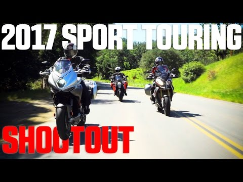 BMW S1000XR vs. KTM Super Duke GT vs. MV Agusta Turismo Veloce - 4K