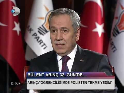 Bülent Arınç: ODTÜ'de Doğu Perinçek'i protesto etmezler... (32. Gün)