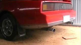 82 Trans Am with 350 chev v8 revving from cold start