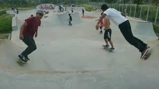 Few month later in Annapurna skatepark