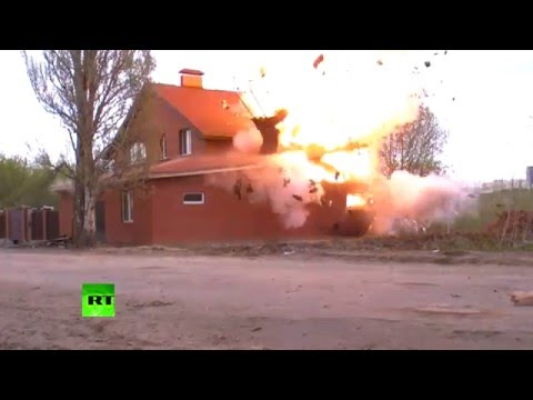 'Too dangerous to take out explosives' - Russian police find, blow up bombs in illegal prayer hall