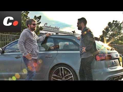 ITALIAN JOB Cap. 1: Audi RS6 Avant / Prueba / Test / Review en español | coches.net