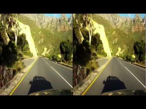 Cape Town sunset drive in 3D, Hout Bay to Chapmans Peak