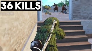 SNEAK ATTACK ON FULL SQUAD   36 KILLS Duo vs Squad   PUBG Mobile