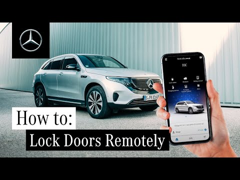 How to Lock and Unlock Your Doors Remotely with Mercedes me