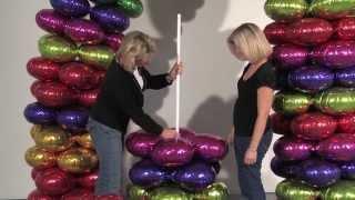 Zephyr Solutions Latex Ballon Arc et Colonne Kit